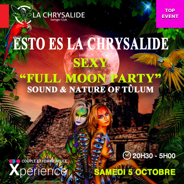 Full moon party - Esto es La Chrysalide