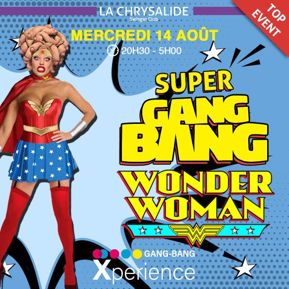 Super Gang-Bang - Wonder woman