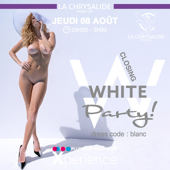 Closing White party 1