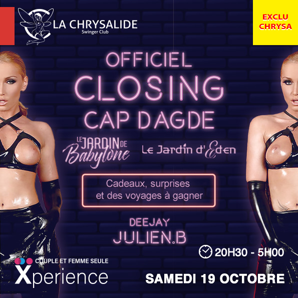 Officiel Closing Cap d'Agde