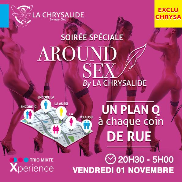 Spécial Around Sex By La Chrysalide