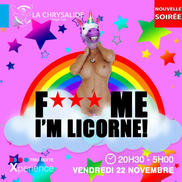 Fuck me I'm licorne