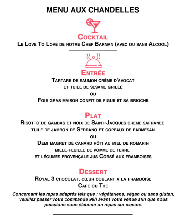 Saint Valentin part 1