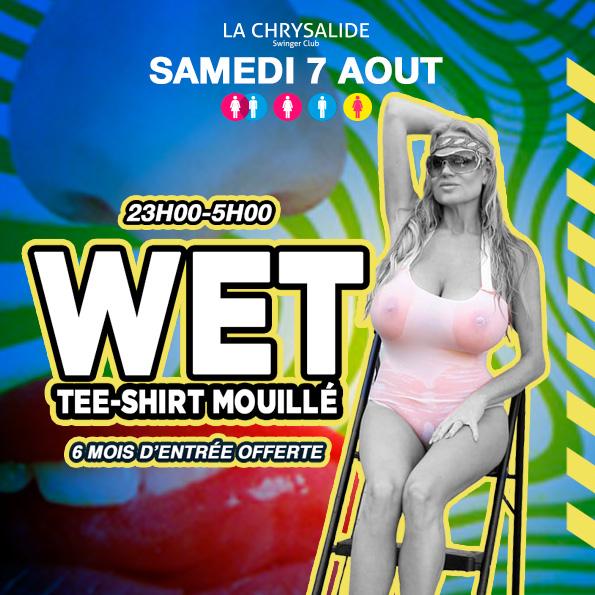 WET Tee-shirt mouillé