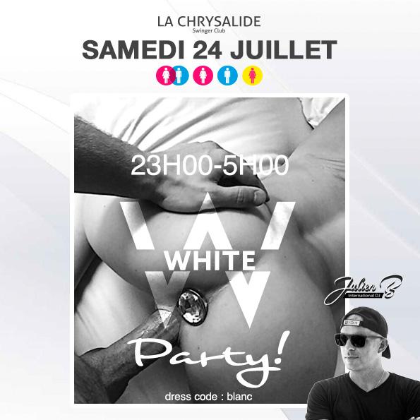 White party La Chrysalide