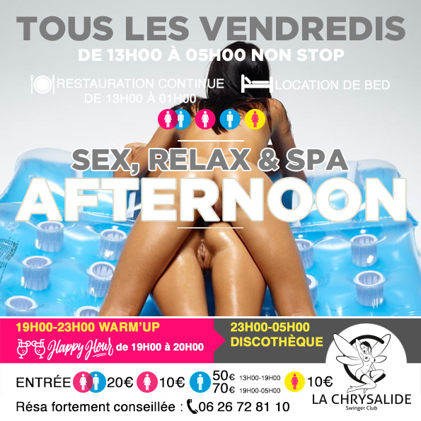 Vendredi Afternoon sex relax & spa