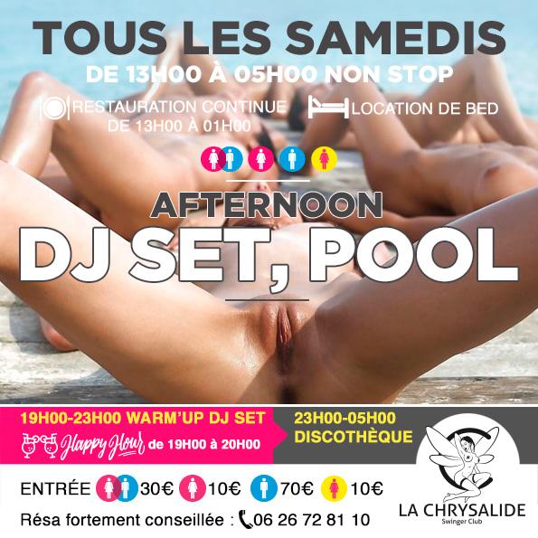Samedi Deejay Set Pool Afternoon