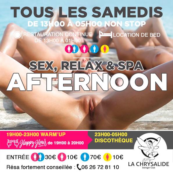 Samedi Afternoon sex relax & spa