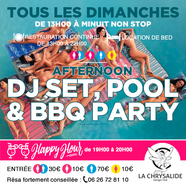 Dimanche Deejay Set Pool & BBQ party