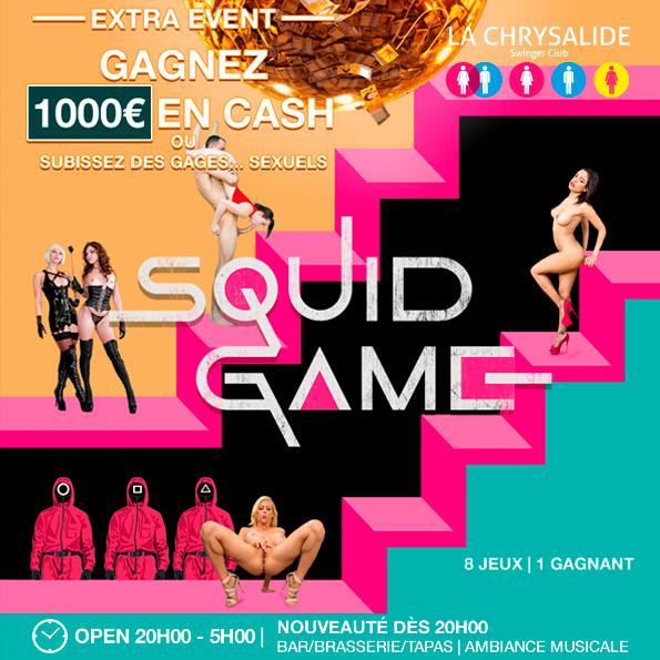 SQUID GAME 1000 EUROS CASH