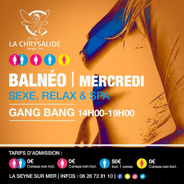 Mercredi GANG BANG sex relax & spa